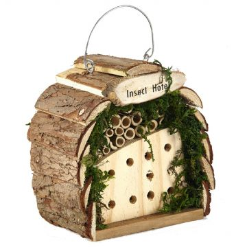 Pet Ting Wooden Insect and Bee Hotel